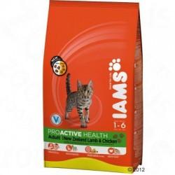 Iams Cat Proactive Health Adult met Lam & Kip Kattenvoer