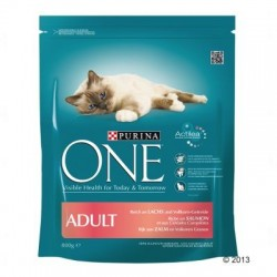 Purina ONE Adult Zalm & Volkorenrijst Kattenvoer