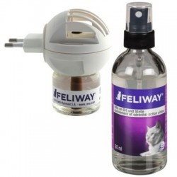 Feliway Verdamper of Spray - Verdamper & Flacon