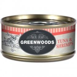 Greenwoods Adult Tonijn & Garnalen Kattenvoer 6 x 70 g