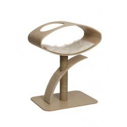 Krabpaal Vesper Design Krabpaal Kat V-Hoge Lounge Bruin